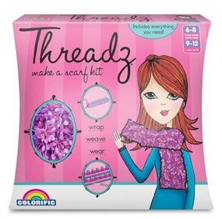 Make a Scarf Kit by Threadz, Ages 6+  $19.99
