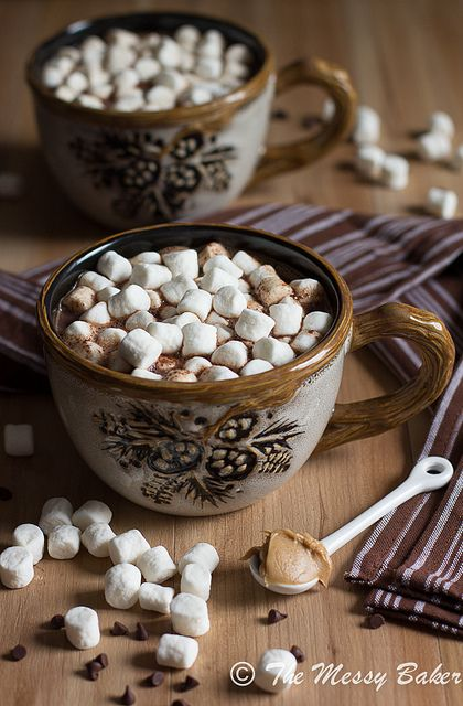 Milk Chocolate Peanut Butter Cocoa via Pinterest