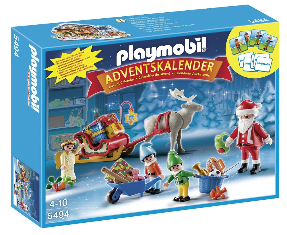 Santa's Workshop Advent Calendar by Playmobil, Ages 4+  $28.99