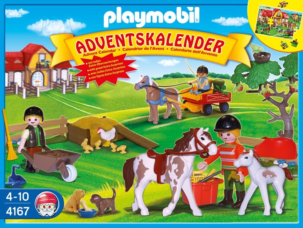 Pony Farm Advent Calendar by Playmobil, Ages 3+  $27.99