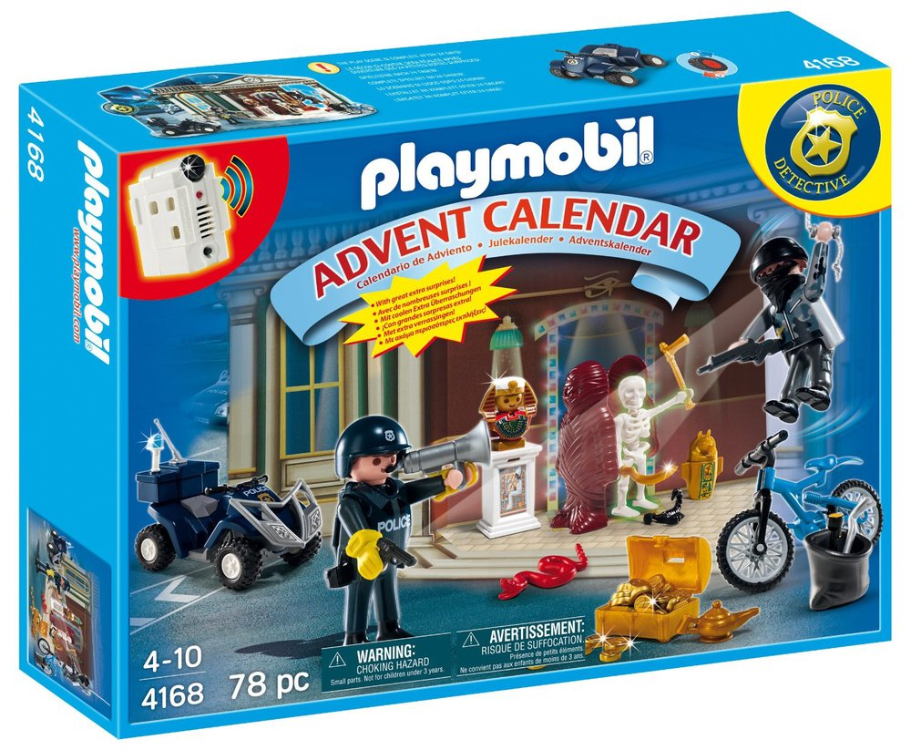Police Detective Advent Calendar by Playmobil, Ages 4+  $28.99