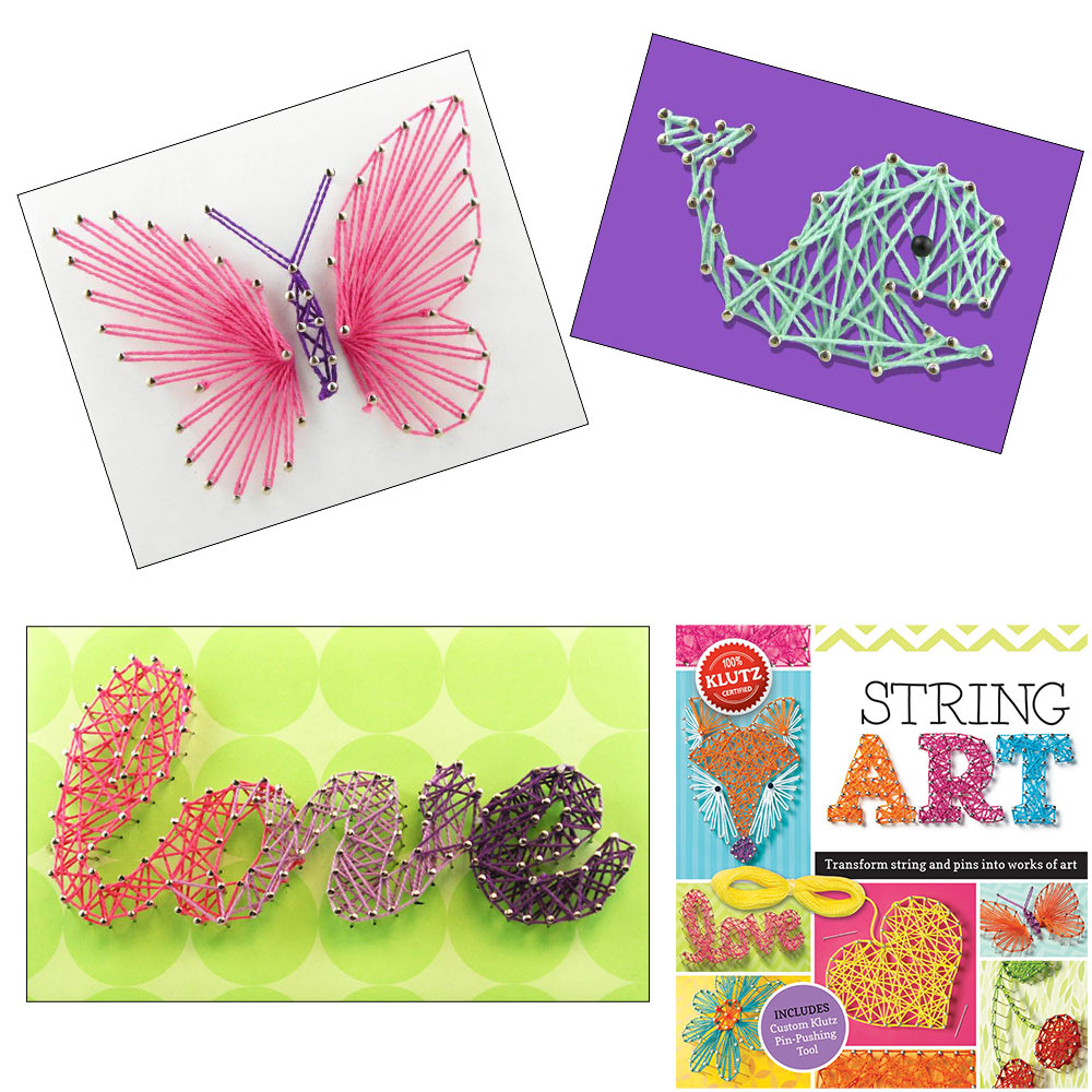 String Art by Klutz, Ages 10+ $19.99