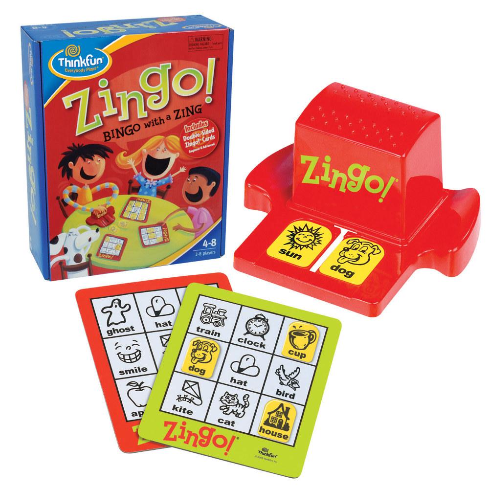 Zingo, Ages 4+ $19.99