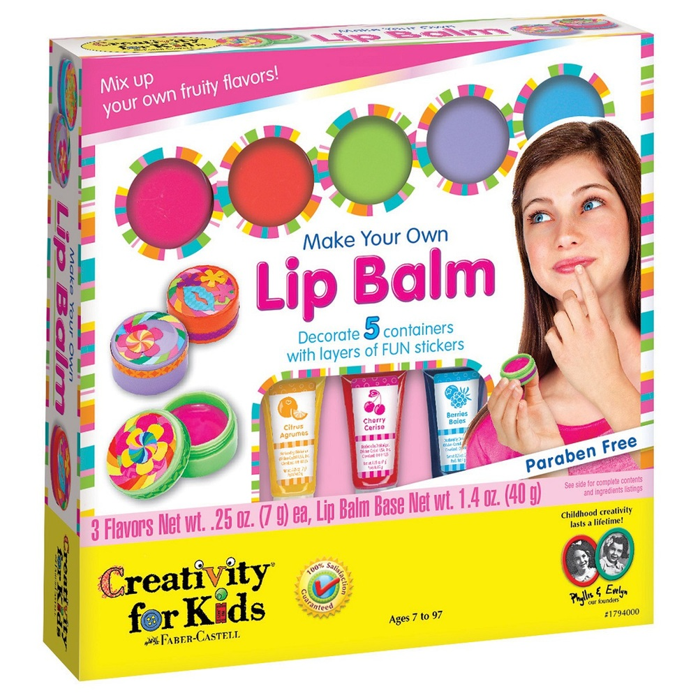 Make Your Own Lip Balm, Ages 7+ $22.99