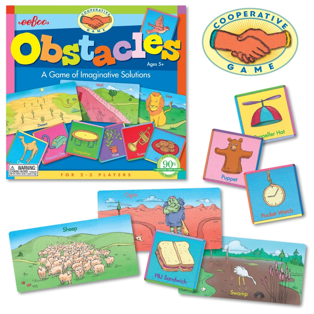 Obstacles, Ages 5+ $17.99