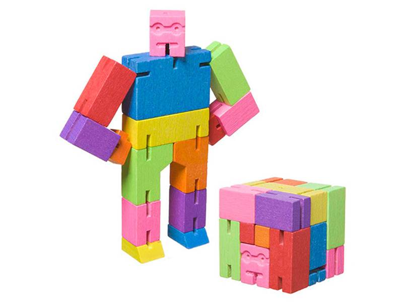 Cubebots, available in 3 sizes, original or ninja, Ages 3+ $7.99-$24.99