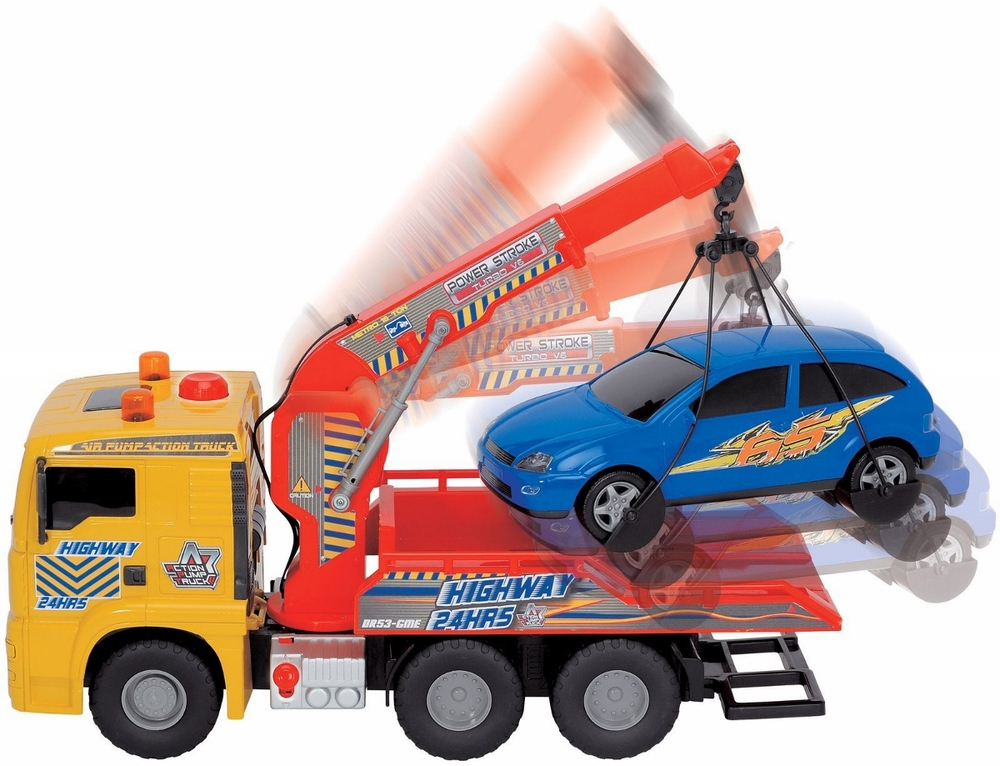 Pump Action Tow Truck, ages 5+  SALE price $34.99 (originally $69.99)