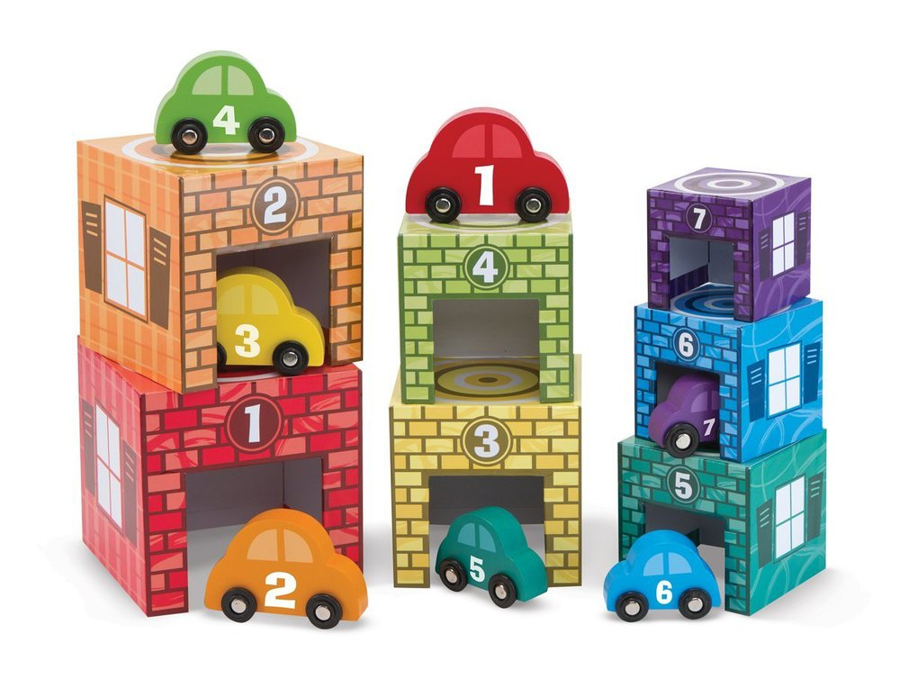 Nesting & Sorting Garages & Cars by Melissa & Doug, Ages 2+  $24.99