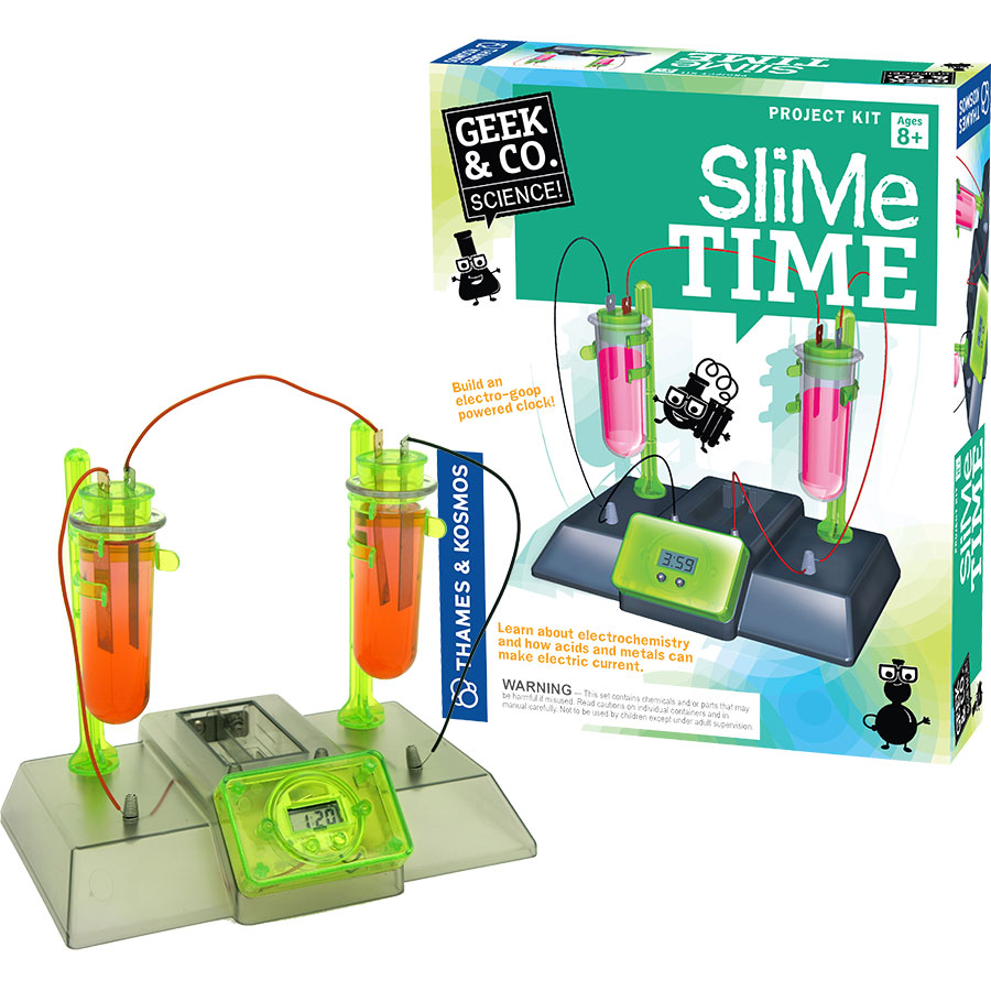 Geek & Co. Slime Time, Ages 8+ $19.99