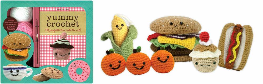 Yummy Crochet, Ages 10+  $19.99