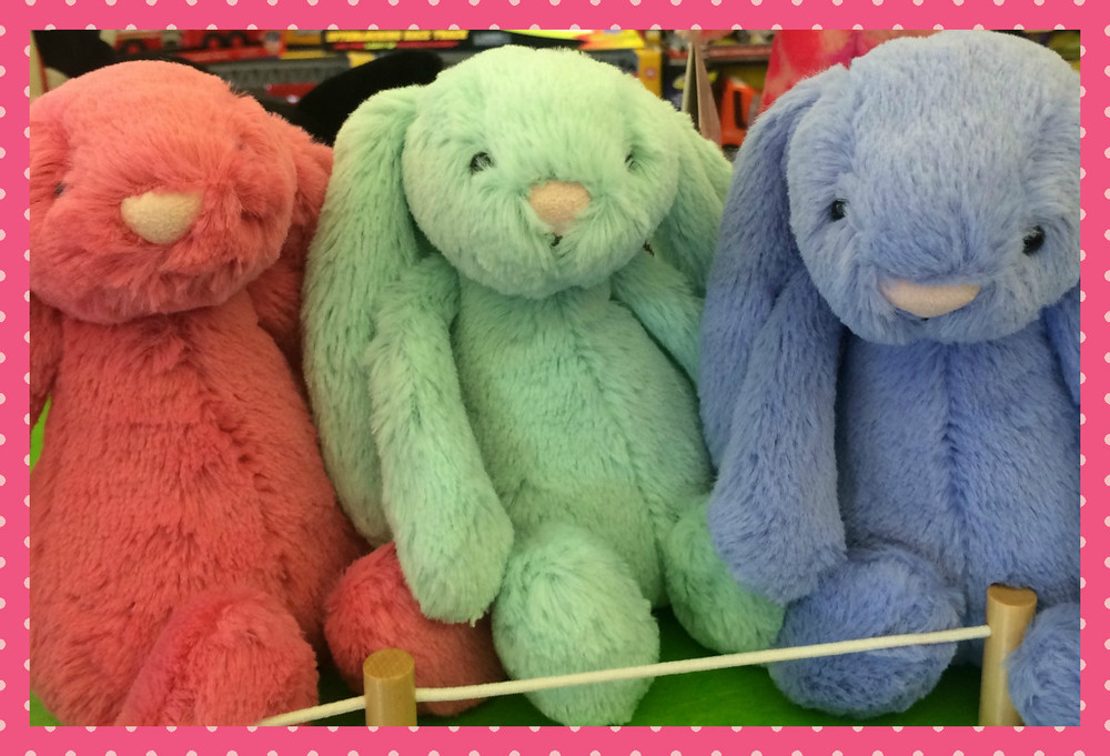 Jellycat Easter Bunnies, $12.99
