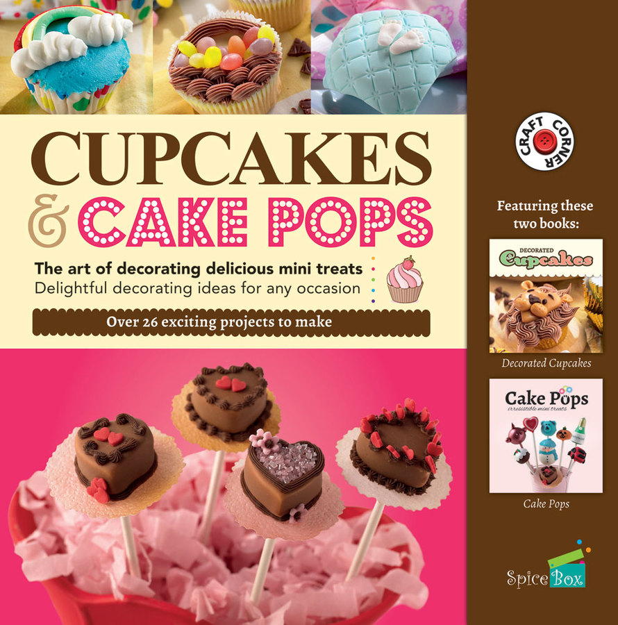 Cupcakes & Cake Pops Kit by Spicebox, Ages 8+ $19.99