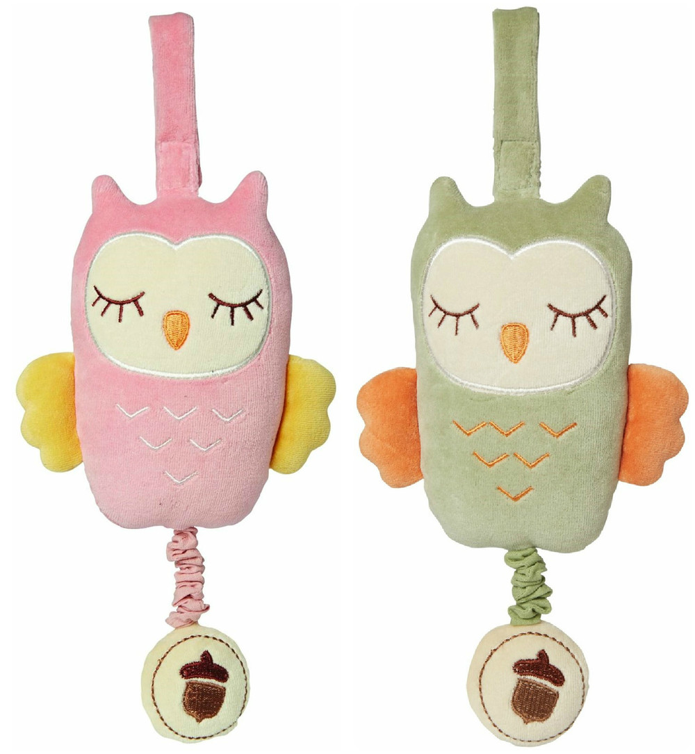 Musical Pull Owl by My Natural, Ages Birth+ $17.99