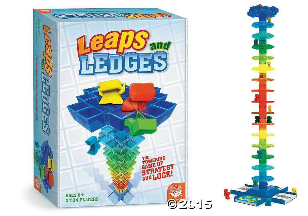 Leaps and Ledges, Ages 8+ $29.99