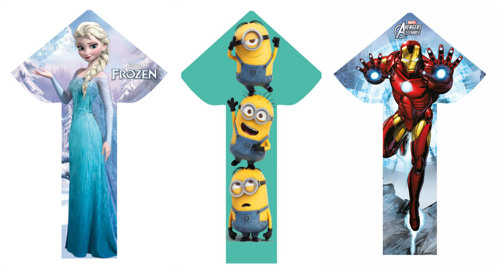 Breezy Fliers, available in Elsa, Minions or Iron Man, Ages 8+ $19.99