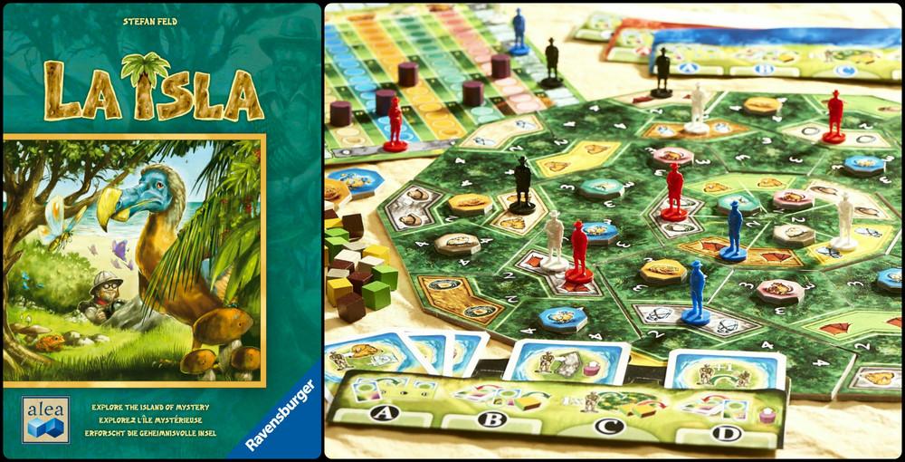 La Isla Board Game, Ages 10+ $34.99