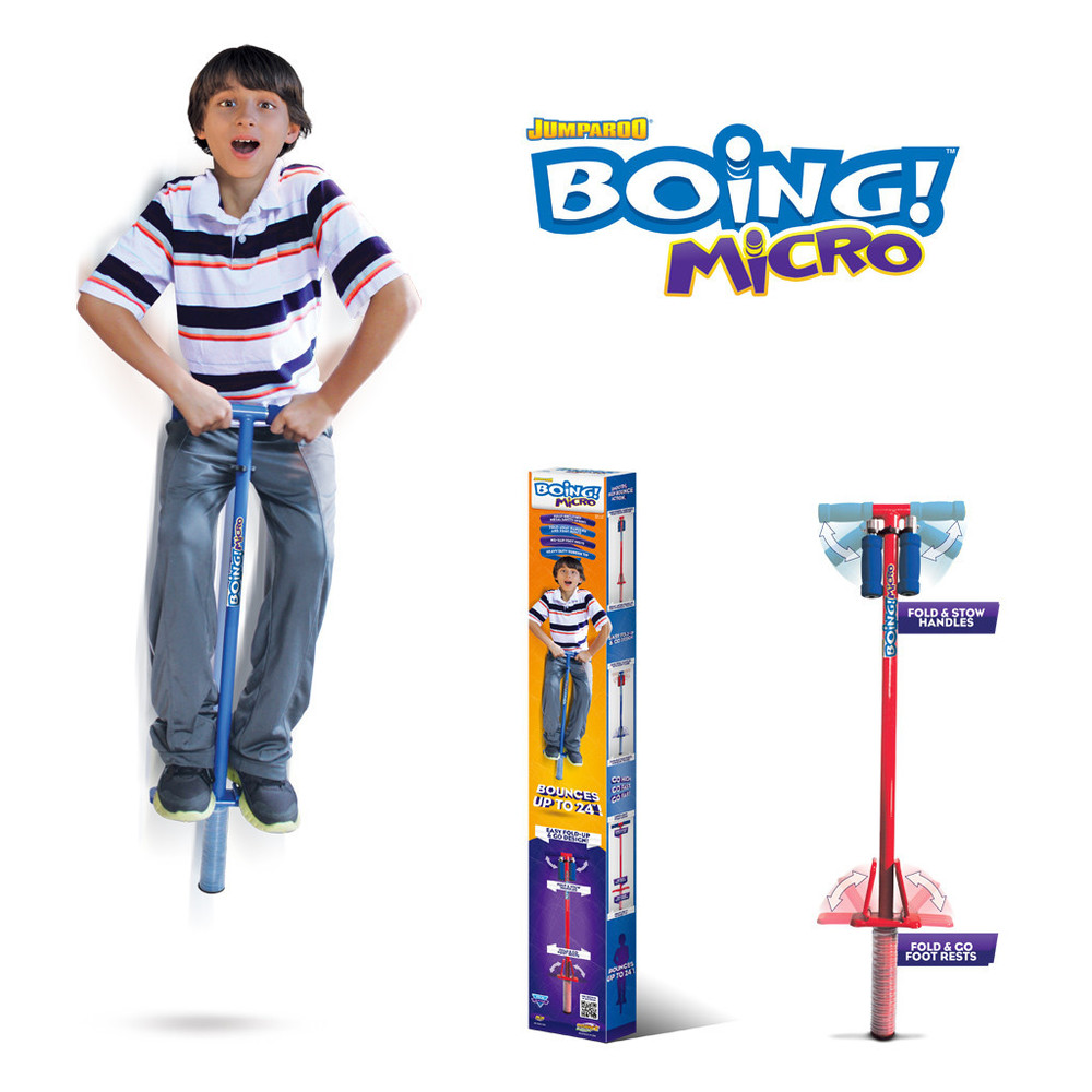 Boing! Micro Pogo Stick, Ages 5+, $34.99