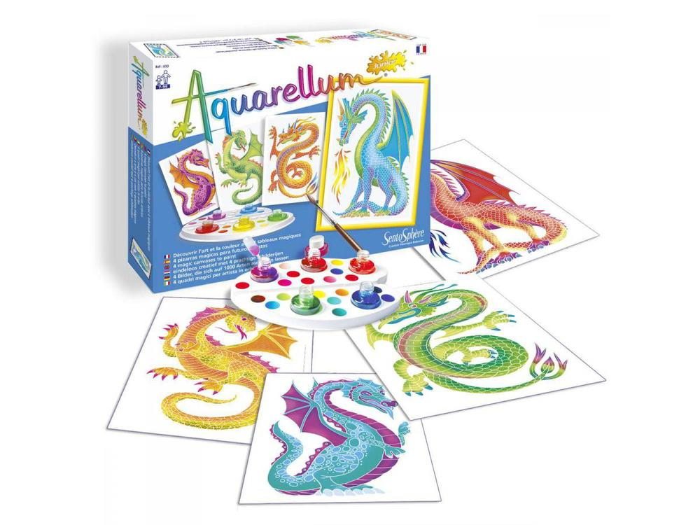Aquarellum Painting Kits, available in 3 sizes, Ages 5+ $9.99 - $22.99