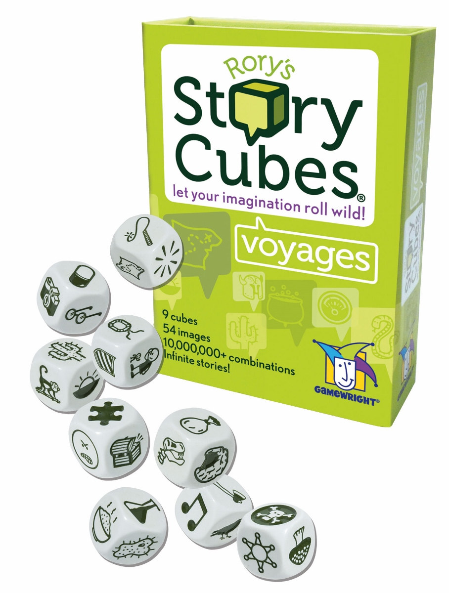 Story Cubes, Ages 8+ $7.99