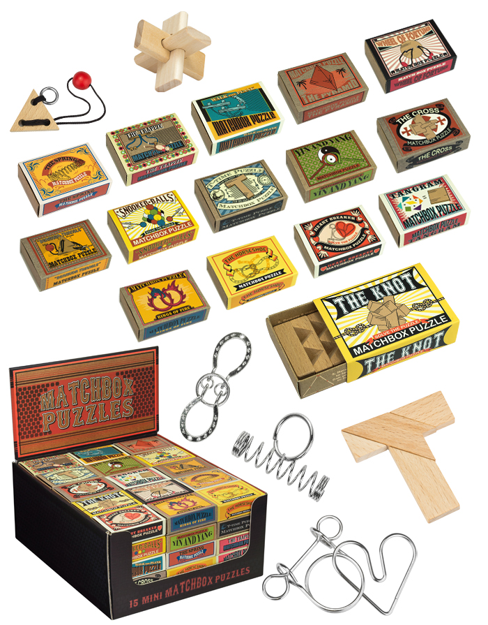 Matchbox Puzzles, Ages 6+ $2.99