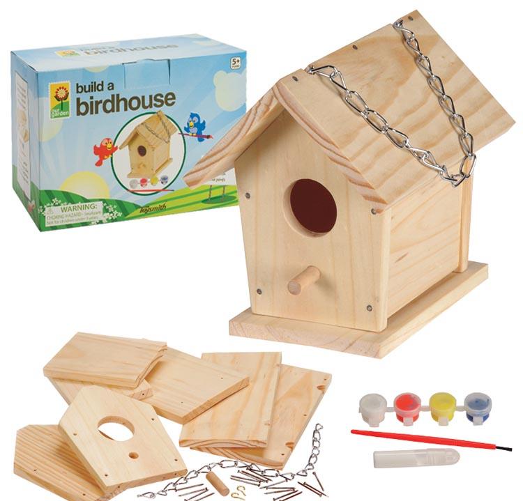 Build and Paint a Birdhouse, Ages 5+ $12.99