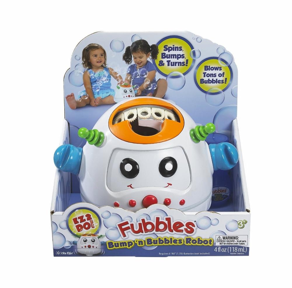 Bump 'n Bubbles Robot, Ages 3+ $19.99