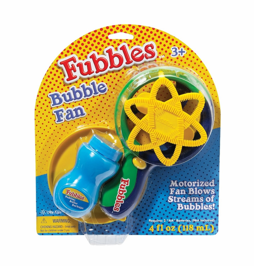 Bubble Fan by Fubbles, Ages 3+ $9.99