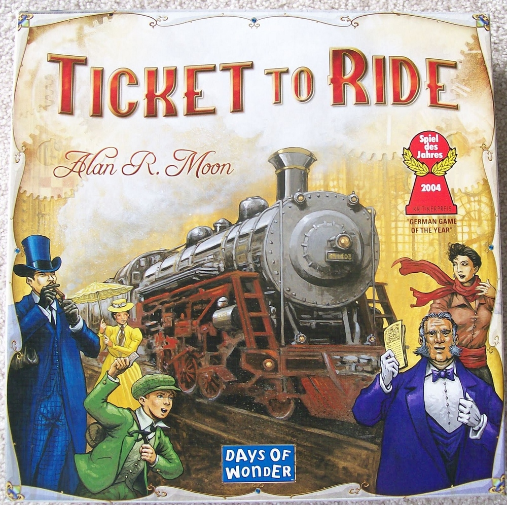 Ticket to Ride, Ages 8+ $49.99