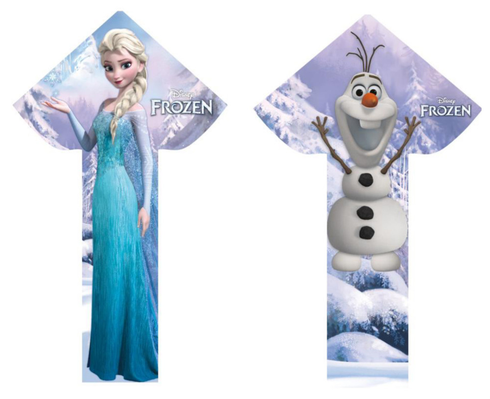 "Frozen Kites, 57"" tall, Ages 8+ $19.99"