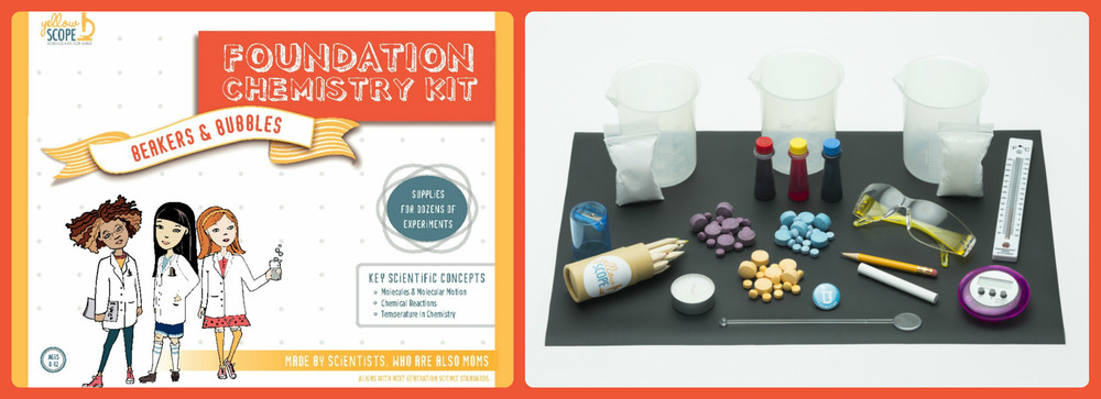 Chemistry Kit by Yellow Scope, Ages 8-12 $44.99