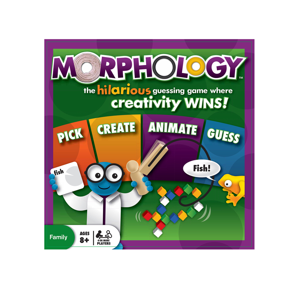 Morphology, Ages 8+, 4 or more players, $24.99