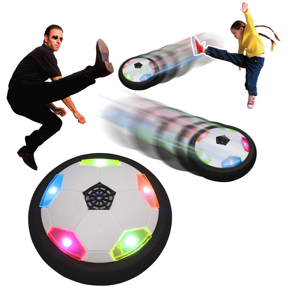 Ultra Glow Air Power Soccer Disk, Ages 6+, $19.99