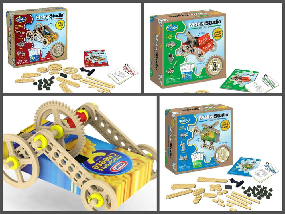 Maker Studio Kits, Ages 7+ $19.99