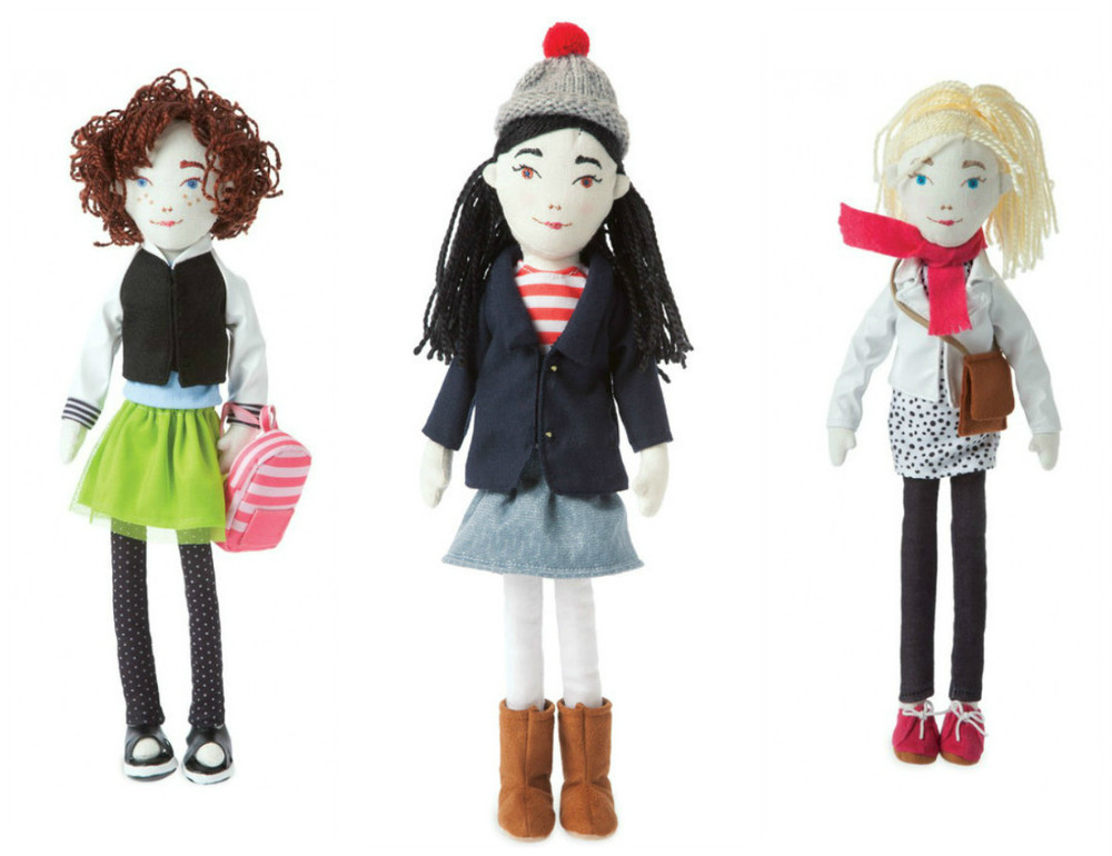 SCOUT Dolls, Ages 5+ $29.99