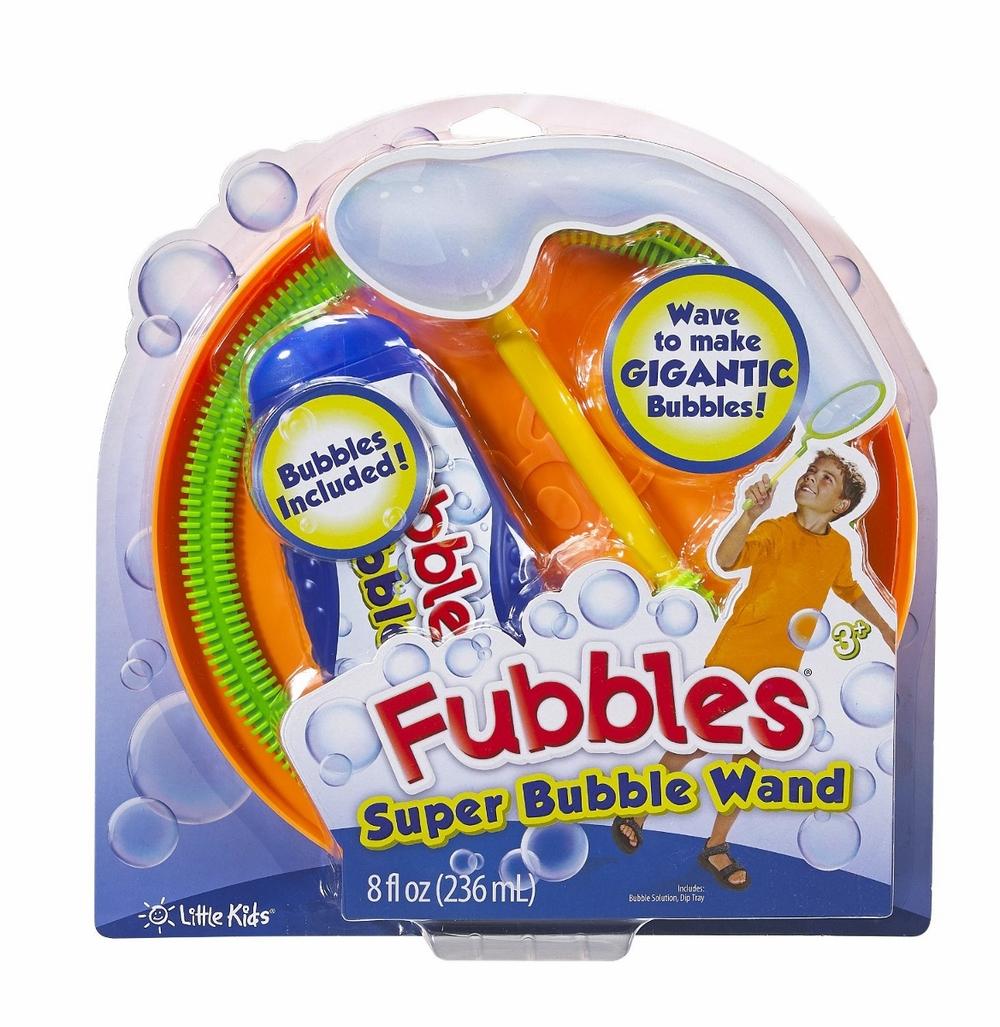 Super Bubble Wand by Fubbles, Ages 3+ $7.99