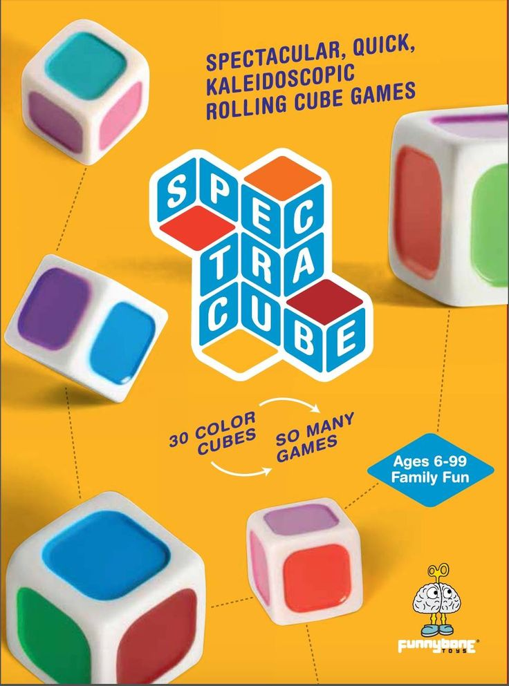 Spectracube, Ages 6+ $22.99