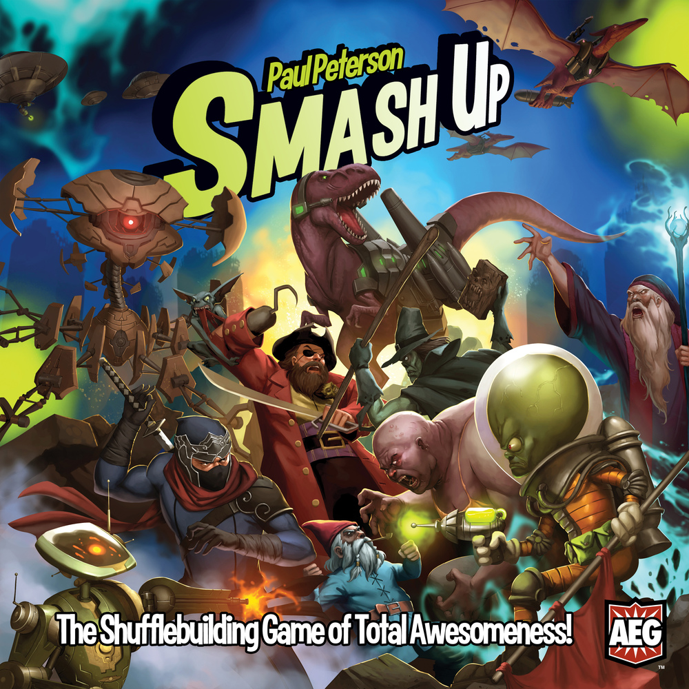 Smash Up, Ages 12+ $29.99
