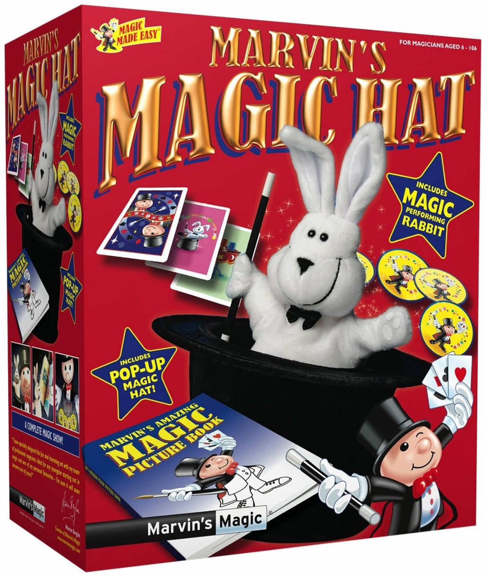 Marvin's Magic Hat, Ages 6+ $34.99