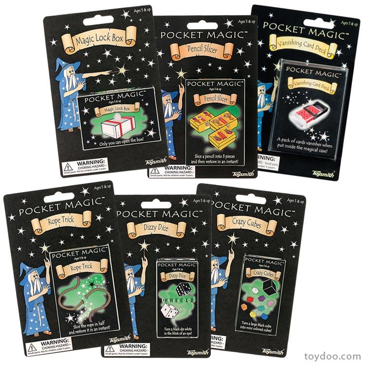 Pocket Magic, Ages 5+ $2.99
