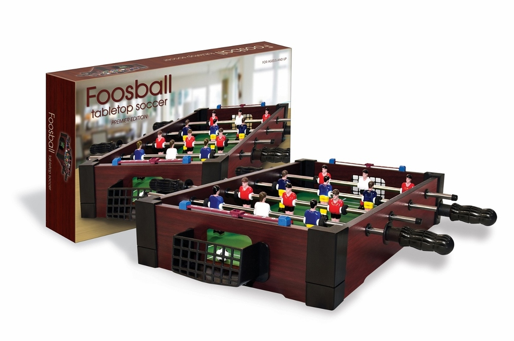 Tabletop Foosball, Ages 5+ $34.99
