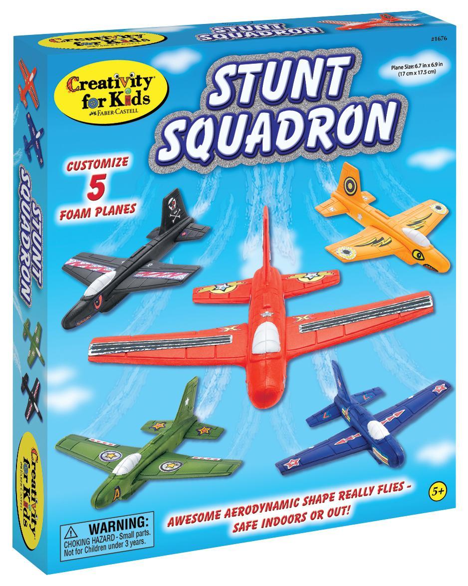 Stunt Squadron Airplane Kit, Ages 5+ $19.99