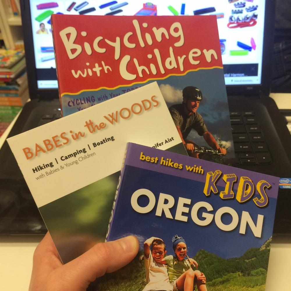 Hiking and Biking Books, $14.95-$16.95