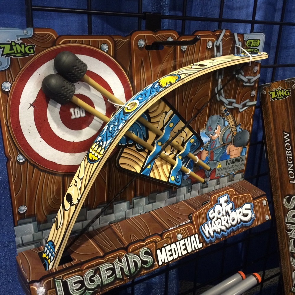 Legends Soft Warriors Bow and Arrow by Zing, Ages 5+ $17.99