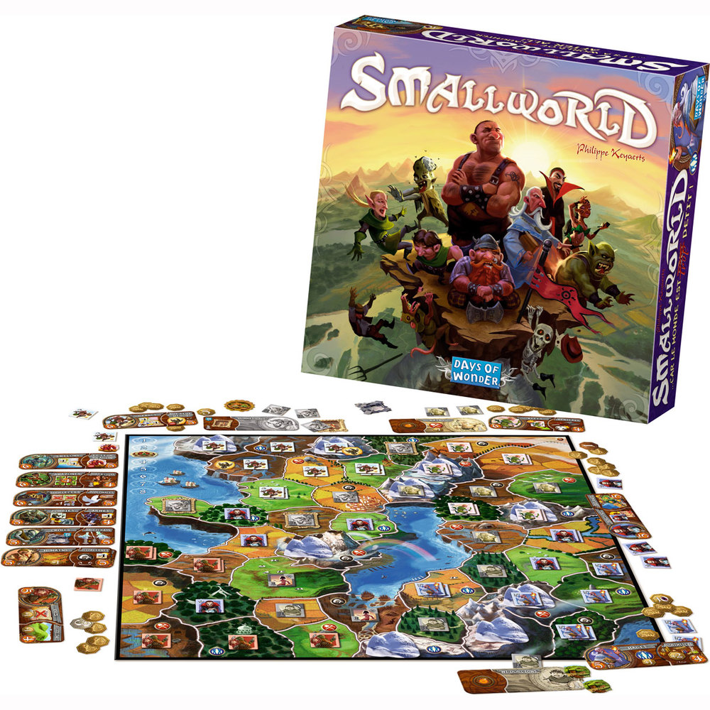 Smallworld, Ages 8+ $49.99