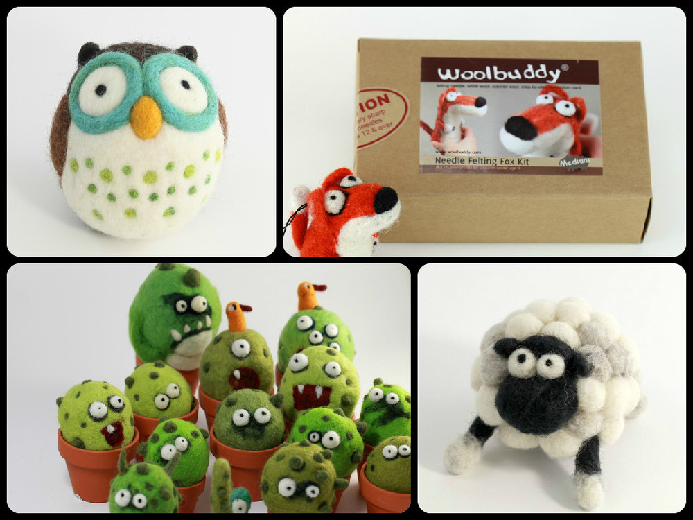 Woolbuddy: Needle Felting Kits for Kids, Ages 8+ $19.99