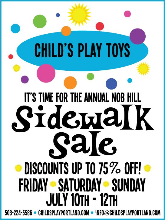 annual_sidewalk_sale_kids_toys_discount_portland