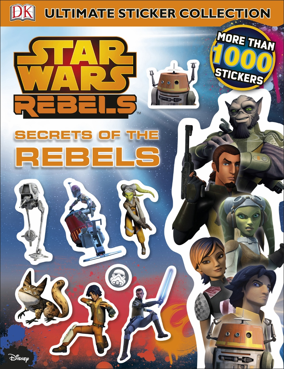 Secrets of the Rebels Sticker Book $12.99