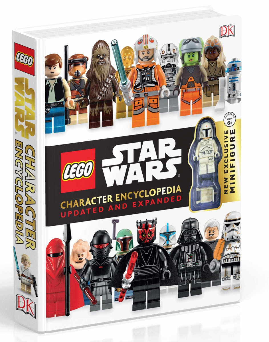 Lego Star Wars Character Encyclopedia: Updated and Expanded, Ages 6+ $18.99