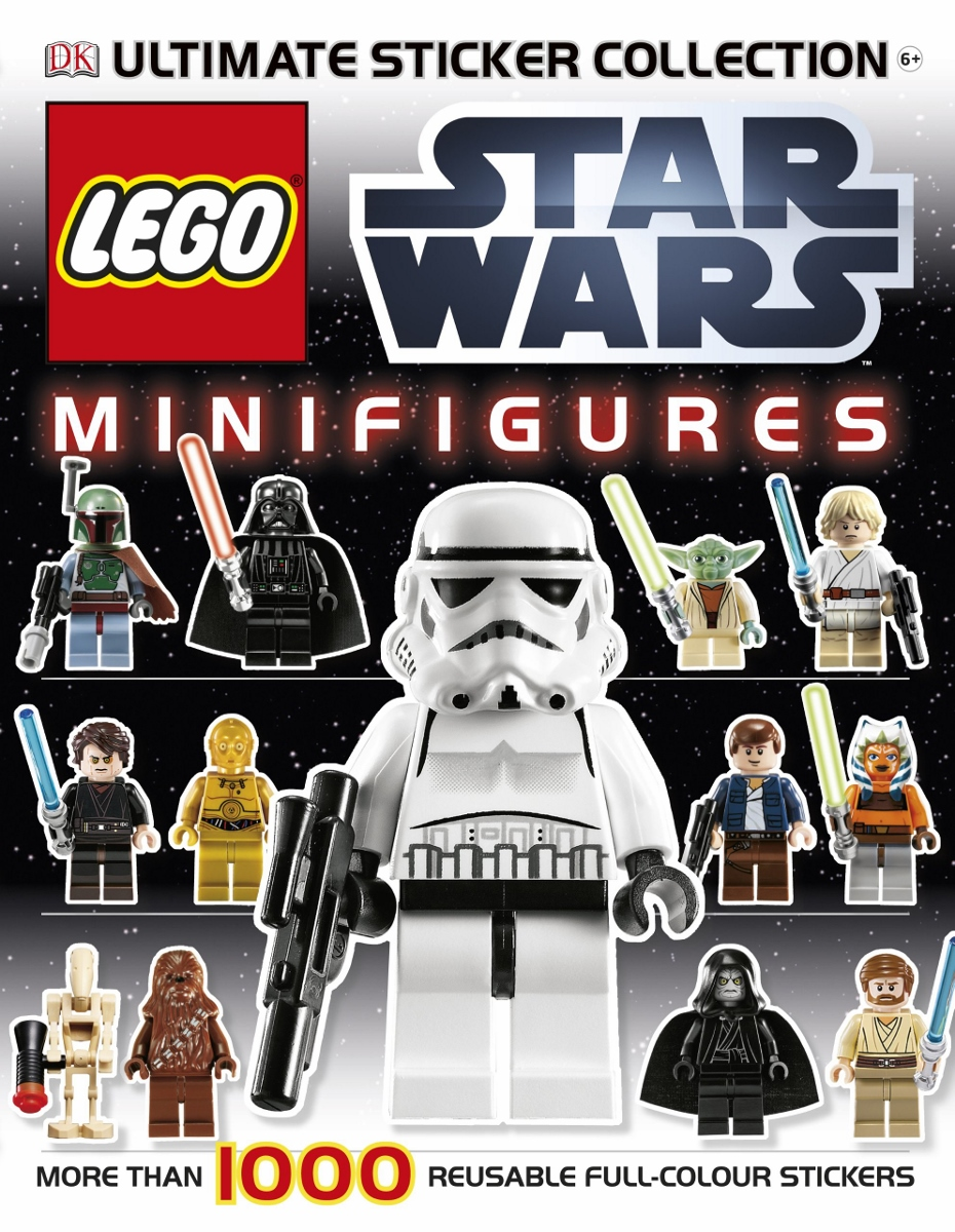 Lego Star Wars Minifigures Sticker Collection $12.99