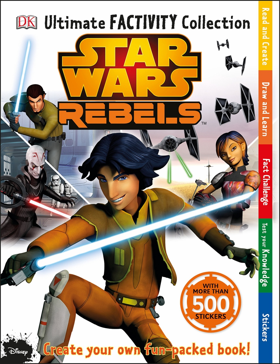 Star Wars Rebels Ultimate Factivity Collection, Ages 6+ $12.99